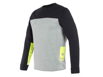 Sweatshirt Dainese Contrast Pullover melange grey black