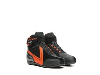 Schuhe Dainese Energyca D-WP Waterproof Shoes schwarz rot fluo