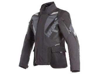 Gore Tex Jacke Dainese Gran Turismo GTX schwarz grau