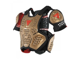 Protektorenweste Dainese MX1 Roost Guard gold black