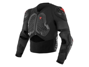 Protektorenjacke Dainese MX1 Safety Jacket ebony black