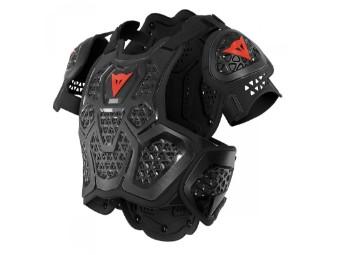 Protektorenweste Dainese MX2 Roost Guard ebony black