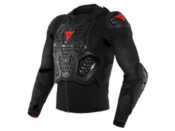 Protektorenjacke Dainese MX2 Safety Jacket ebony black