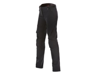 Motorradhose Dainese New Drake Air Tex Lady Pants schwarz