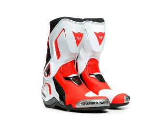 Stiefel Dainese Torque 3 Out Lady Boots black white fluo red