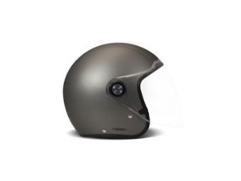 P1 Project One Solid Matt Grey Jethelm Motorradhelm grau matt