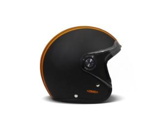P1 Project One Mile Orange Matt Black Jethelm Motorradhelm orange schwarz matt