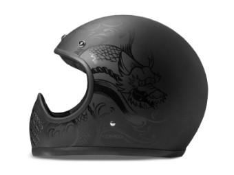 Helm DMD Seventyfive Koi schwarz matt