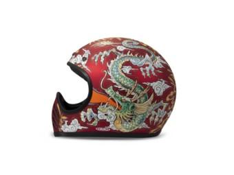 Helm DMD Seventyfive Sauvage rot matt