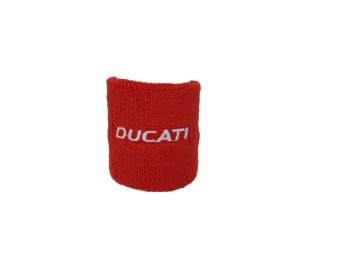 Bremsbehälter Schutz Schweißband Ducati rot