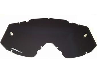 Ersatzscheibe für Crossbrillen E18 und E21 stark getönt antifog