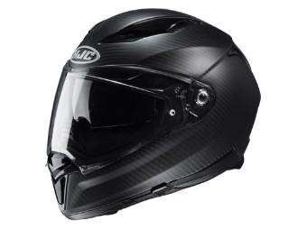 Motorradhelm HJC F70 Carbon Semi Flat schwarz matt