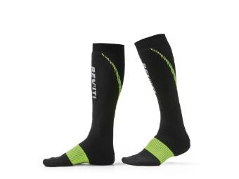 Socken Revit Trident Socks schwarz gelb