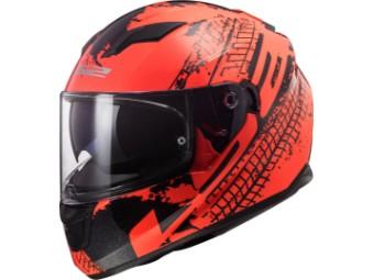 Helm LS2 FF320 Stream Lava fluo orange black