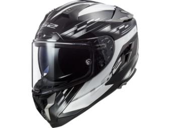 Helm LS2 FF327 Challenger GP Black White schwarz weiß