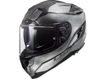 Helm LS2 FF327 Challenger Jeans Titanium grau glanz
