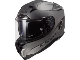 Helm LS2 FF327 Challenger Solid Matt Titanium grau matt