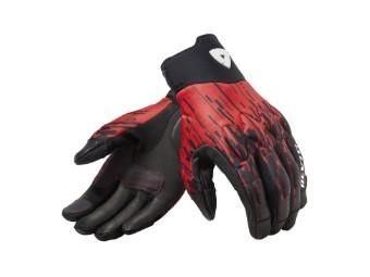 Handschuhe Revit Spectrum schwarz neon rot