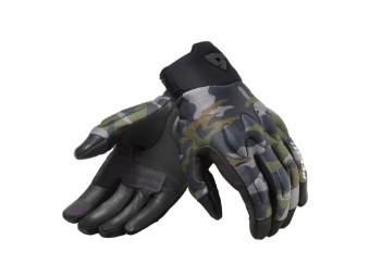 Handschuhe Revit Spectrum camo dunkel grün