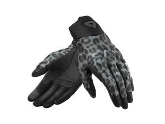 Handschuhe Revit Spectrum Ladies leopard dunkel grau