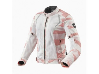 Motorradjacke Revit Torque Ladies camo rosa