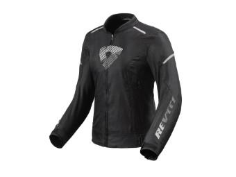 Motorradjacke Revit Sprint H2O Ladies schwarz weiß