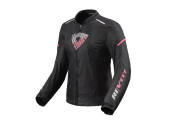 Motorradjacke Revit Sprint H2O Ladies schwarz rosa