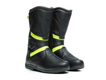 Stiefel Dainese Fulcrum GT Gore Tex Boots schwarz gelb