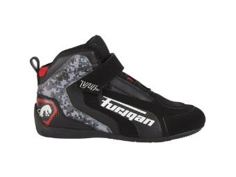 Motorradschuhe Furygan V4 Vented shoes black pixel