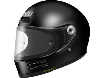 Glamster Black schwarz glanz Motorradhelm Retro Helm