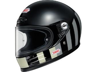 Glamster Resurrection TC5 schwarz grau Motorradhelm Retro Helm