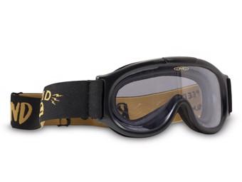 Motorradbrille DMD Ghost Goggle klar