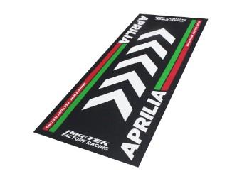 Teppich Biketek Aprilia Serie 4 Garagenmatte Motorradteppich