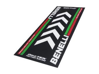 Teppich Biketek Benelli Serie 4 Garagenmatte Motorradteppich