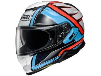 Motorradhelm Shoei GT Air II Haste TC 2 blau