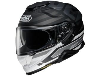Motorradhelm Shoei GT Air II Insignia TC 5 schwarz grau matt