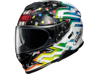Motorradhelm Shoei GT Air II Lucky Charms TC 10