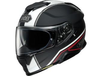 Motorradhelm Shoei GT Air II Panorama TC 5 schwarz grau matt