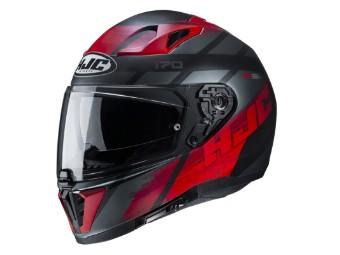 Motorradhelm HJC i70 Reden MC1SF schwarz rot matt