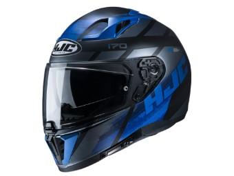 Motorradhelm HJC i70 Reden MC2SF schwarz blau matt