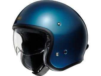 J.O laguna blue Open Face Helm Jethelm Motorradhelm