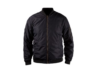 Motorradjacke John Doe Flight Jacket mit XTM schwarz