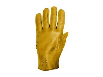 Motorradhandschuhe John Doe Ironhead XTM Leder yellow