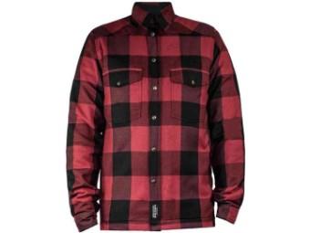 Lumberjack Shirt John Doe Motoshirt XTM Rot