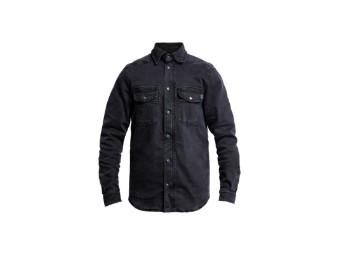 Shirt John Doe Motoshirt XTM Denim Black