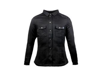 Lumberjack Shirt John Doe Motoshirt XTM Women schwarz