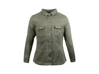 Lumberjack Shirt John Doe Motoshirt XTM Women olive