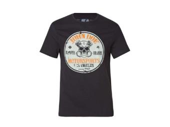 New Rebel T-Shirt schwarz
