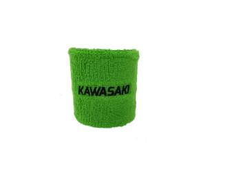 Bremsbehälter Schutz Schweißband Kawasaki grün