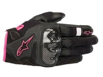 Handschuhe Alpinestars Stella SMX-1 Air V2 schwarz/pink